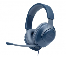 Słuchawki przewodowe JBL Quantum 100 Niebieskie