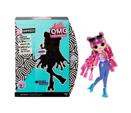 Lalka i akcesoria L.O.L. Surprise! OMG Doll Series 3- Disco Sk8er