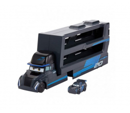 Pojazd / tor i garaż Mattel Cars Mikroauta Transporter Gale Beaufort