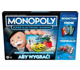 Gra planszowa / logiczna Hasbro Monopoly Super Electronic Banking