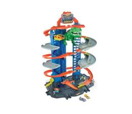 Pojazd / tor i garaż Hot Wheels Mega Garaż T-Rexa