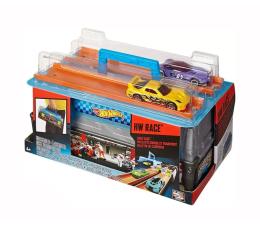 Pojazd / tor i garaż Hot Wheels Wyścigowy zestaw skrzynka
