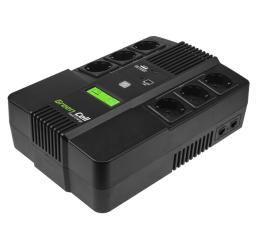 Zasilacz awaryjny (UPS) Green Cell UPS AiO (800VA/480W, 6x Schuko, AVR, LCD)