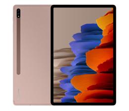 """Tablet 12"""" Samsung Galaxy Tab S7+ 12.4"""" T970 WiFi 6/128GB miedziany"""