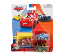 Pojazd / tor i garaż Mattel Cars Mikroauta 3pak