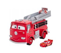 Pojazd / tor i garaż Mattel Cars Wóz strażacki Edek zmiana koloru