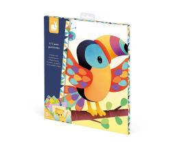 Zabawka plastyczna / kreatywna Janod Zestaw kreatywny Karty z naklejkami Zwierzęta świata 3+