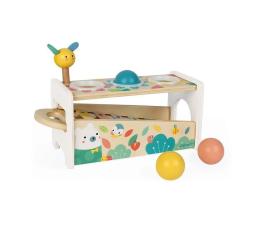 Zabawka muzyczna Janod Drewniane cymbałki z kulodromem Pur