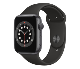 Smartwatch Apple Watch 6 44/Space Gray Aluminium/Black Sport GPS