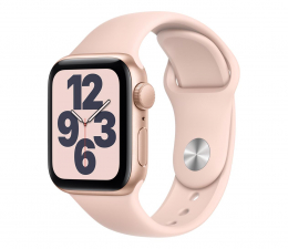 Smartwatch Apple Watch SE 40/Gold Aluminium/Pink Sport GPS