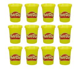 Zabawka plastyczna / kreatywna Play-Doh Ciastolina Tuby uzupełniające 12-pak żółty