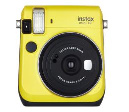 Aparat natychmiastowy Fujifilm Instax Mini 70 żółty + wkłady 2x10+ etui