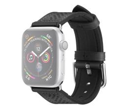 Pasek / bransoletka Spigen Pasek Skórzany Retro Fit do Apple Watch czarny