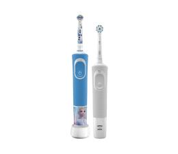 Szczoteczka elektryczna Oral-B Vitality 100 White + D100 Kids Frozen