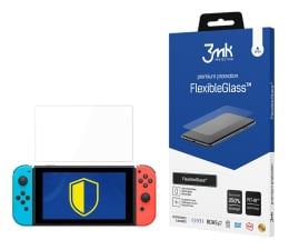 Folia ochronna na tablet 3mk Szkło Flexible Glass do Konsoli Nintendo Switch