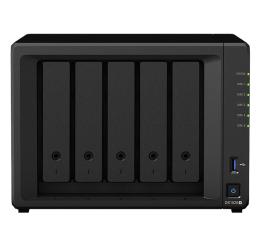 Dysk sieciowy NAS / macierz Synology DS1520+ (5xHDD, 4x2.0-2.7GHz, 8GB, 2xUSB, 4xLAN)