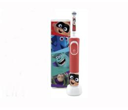 Szczoteczka elektryczna Oral-B D100 Kids Pixar + Etui Podróżne