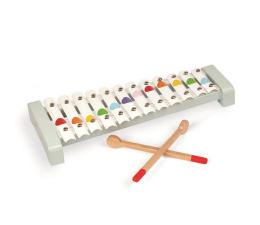 Zabawka muzyczna Janod Cymbałki 12 tonów metalowe Confetti