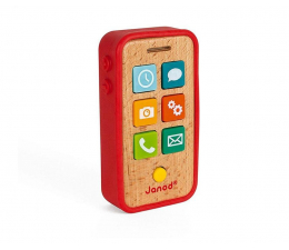 Zabawka edukacyjna Janod Telefon drewniany z dźwiękami