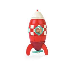 Zabawka kreatywna Janod Rakieta drewniana magnetyczna