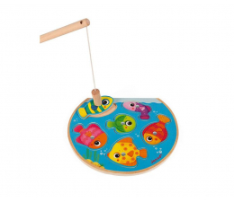 Puzzle dla dzieci Janod Puzzle z magnesami Szybkie rybki z wędką