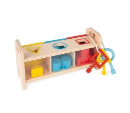 Zabawka edukacyjna Janod Drewniany sorter z kluczykami Essentiel
