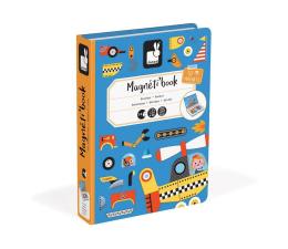 Zabawka kreatywna Janod Magnetyczna układanka Pojazdy Magnetibook
