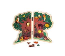 Zabawka kreatywna Janod Magnetyczna układanka Drzewo