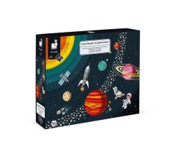 Zabawka edukacyjna Janod Puzzle edukacyjne Układ słoneczny 100 elementów 5+