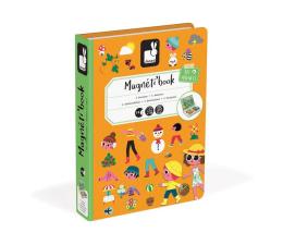 Zabawka kreatywna Janod Magnetyczna układanka 4 pory roku Magnetibook