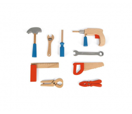 Majsterkowanie Janod Walizka z narzędziami Brico 'Kids