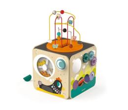 Zabawka edukacyjna Janod Wielofunkcyjna kostka edukacyjna z pętlą duża