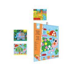 Zabawka plastyczna / kreatywna Janod Zestaw kreatywny Mozaika Zwierzęta 3+