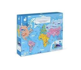 Zabawka edukacyjna Janod Puzzle edukacyjne z figurkami 3D Cuda świata 350 elementów 7