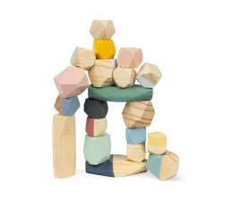 Zabawka edukacyjna Janod Drewniane kamyki Sweet Cocoon 20 elementów