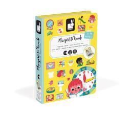 Zabawka kreatywna Janod Magnetyczna układanka Uczę się zegarka Magnetibook