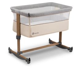 Łóżeczko dostawne Lionelo Leonie - łóżeczko dziecięce 3w1 Beige Sand