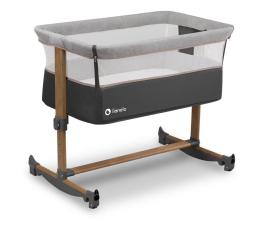 Łóżeczko dostawne Lionelo Leonie - łóżeczko dziecięce 3w1 Grey Stone