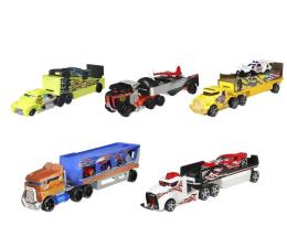 Pojazd / tor i garaż Hot Wheels Ciężarówka + samochód