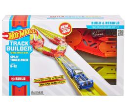 Pojazd / tor i garaż Hot Wheels Track Builder Zestaw do rozbudowy Split track pack