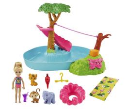 Lalka i akcesoria Barbie Chelsea Wakacyjna przygoda w basenie