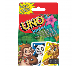 Gra dla małych dzieci Mattel UNO Junior Refresh Gra karciana dla dzieci