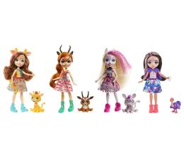 Lalka i akcesoria Mattel Enchantimals Przyjaciele z Promiennej Sawanny Wiel