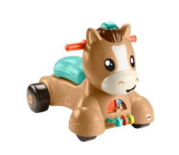 Zabawka dla małych dzieci Fisher-Price Spacerowy kucyk Pchacz-Jeździk