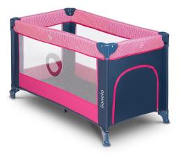 Łóżeczko turystyczne Lionelo Stefi Pink Rose
