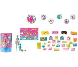 Lalka i akcesoria Barbie Color Reveal Piżamowe Party +50 akcesoriów