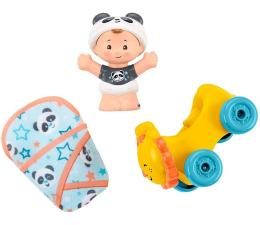 Zabawka dla małych dzieci Fisher-Price Little People Bobas + akcesoria Lew