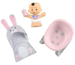 Zabawka dla małych dzieci Fisher-Price Little People Bobas + akcesoria leżaczek