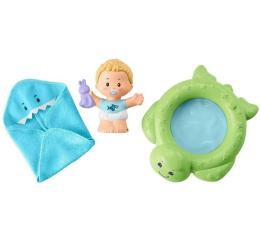 Zabawka dla małych dzieci Fisher-Price Little People Bobas + akcesoria wanienka