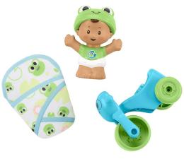 Zabawka dla małych dzieci Fisher-Price Little People Bobas + akcesoria rower